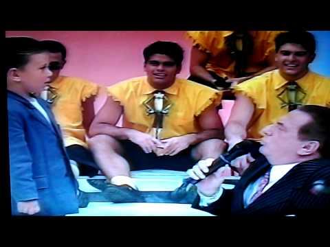 Programa Raul Gil - 21/08/1999
