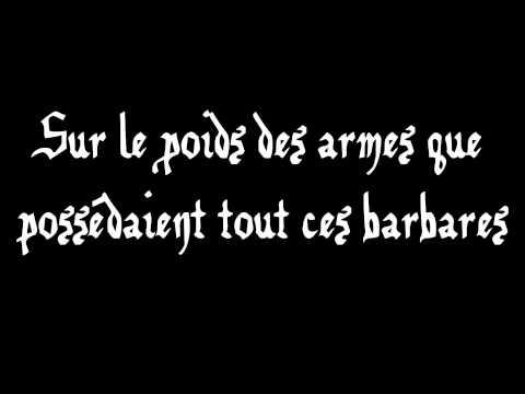 Manau - La Tribu de Dana - Lyrics/Paroles
