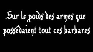 Manau - La Tribu de Dana - Lyrics/Paroles