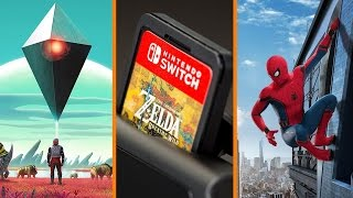 Mass Effect Almost No Man's Sky + More Switch Cartridge Woes + Spoilerific Spider-Man - The Know