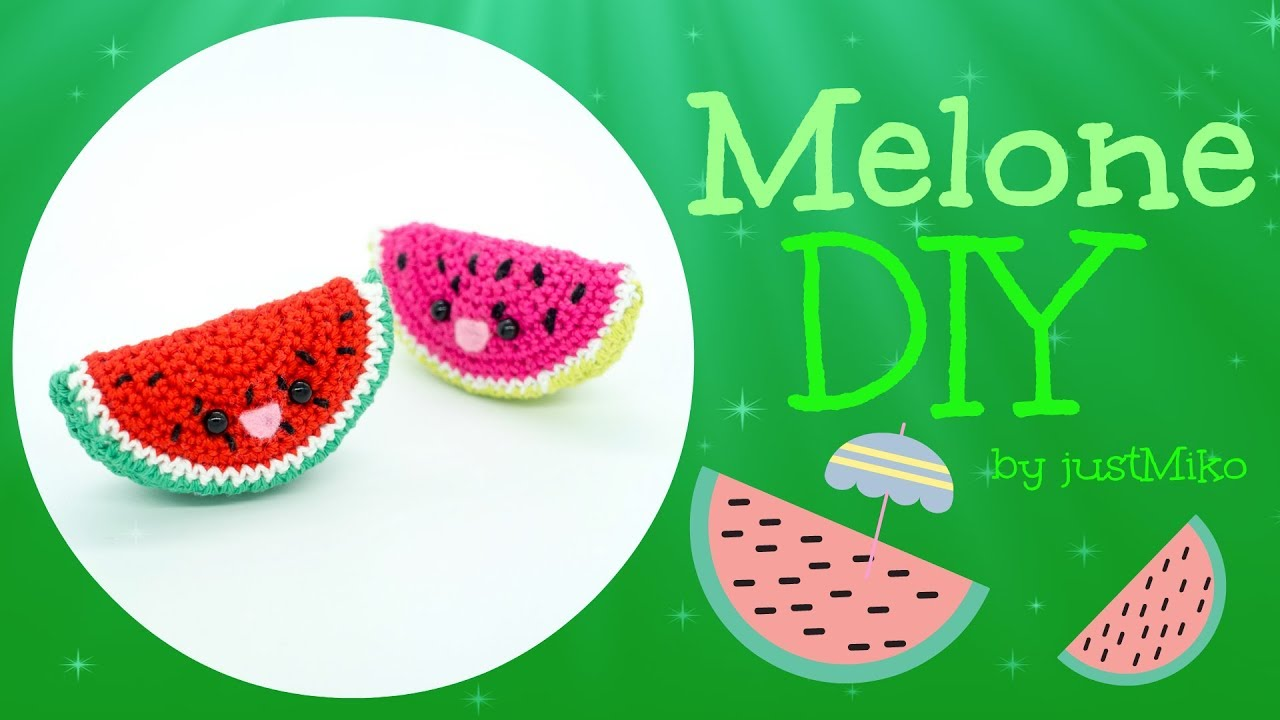 Melone Häkeln Do It Yourself Amigurumi Youtube