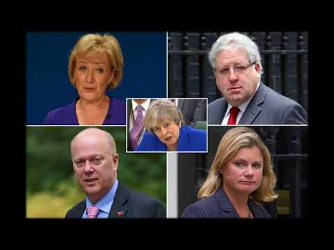 Senior Tory ministers face axe as Theresa May due to carry out reshuffle within days