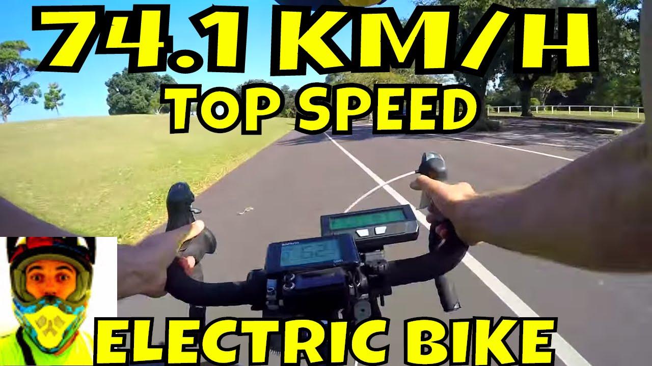 Bafang BBSHD 1000w mid-drive • 74 1km/h top speed on flat (46T) • Electric  Bike 48v BBS02 8fun motor