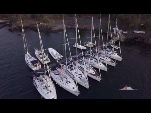Marina Di Vulcanello pier and buoys for mooring Volcano