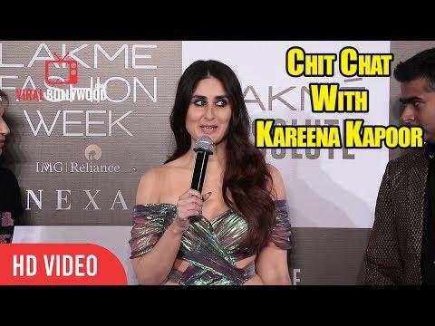 Chit Chat With Kareena Kapoor Khan at Lakme Fashion Week Grand Finale