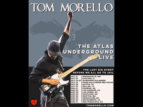Prophets Of Rage + Rage Against The Machine's Tom Morello North American tour ..!