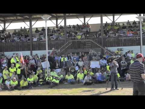 Save SPC Ardmona Rally