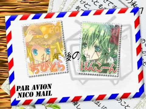 【Nico Nico Chorus】Letter Song【10 People's Chorus】