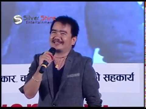 Takme Buda (Wilson Bikram Rai) host INAS Award in comic style