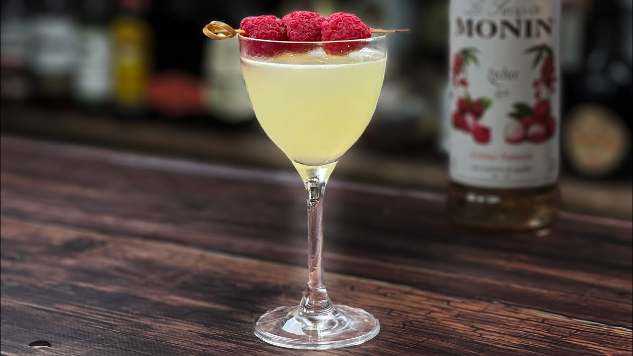 Lychee Cocktails Recipes - a Lychee Martini with Limoncello