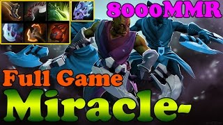 Dota 2 - 6.85 : Miracle- 8000MMR Plays Anti-Mage - Full Game - Ranked Match Gameplay