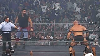 THIS DAY IN HISTORY - Goldberg destroys a 7-foot-2 Superstar: WCW Thunder, June 18, 1998