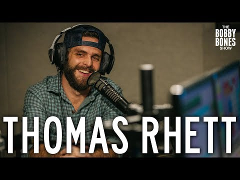 Thomas Rhett Confesses His Love For His Wife On The Bobby Bones Show