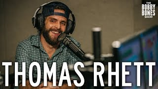 Thomas Rhett Confesses his Love For His Wife on the Bobby Bones Show Video