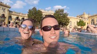 Zapętlaj BUDAPEST BATHS & Overnight Bus to MUNICH! | Kara and Nate