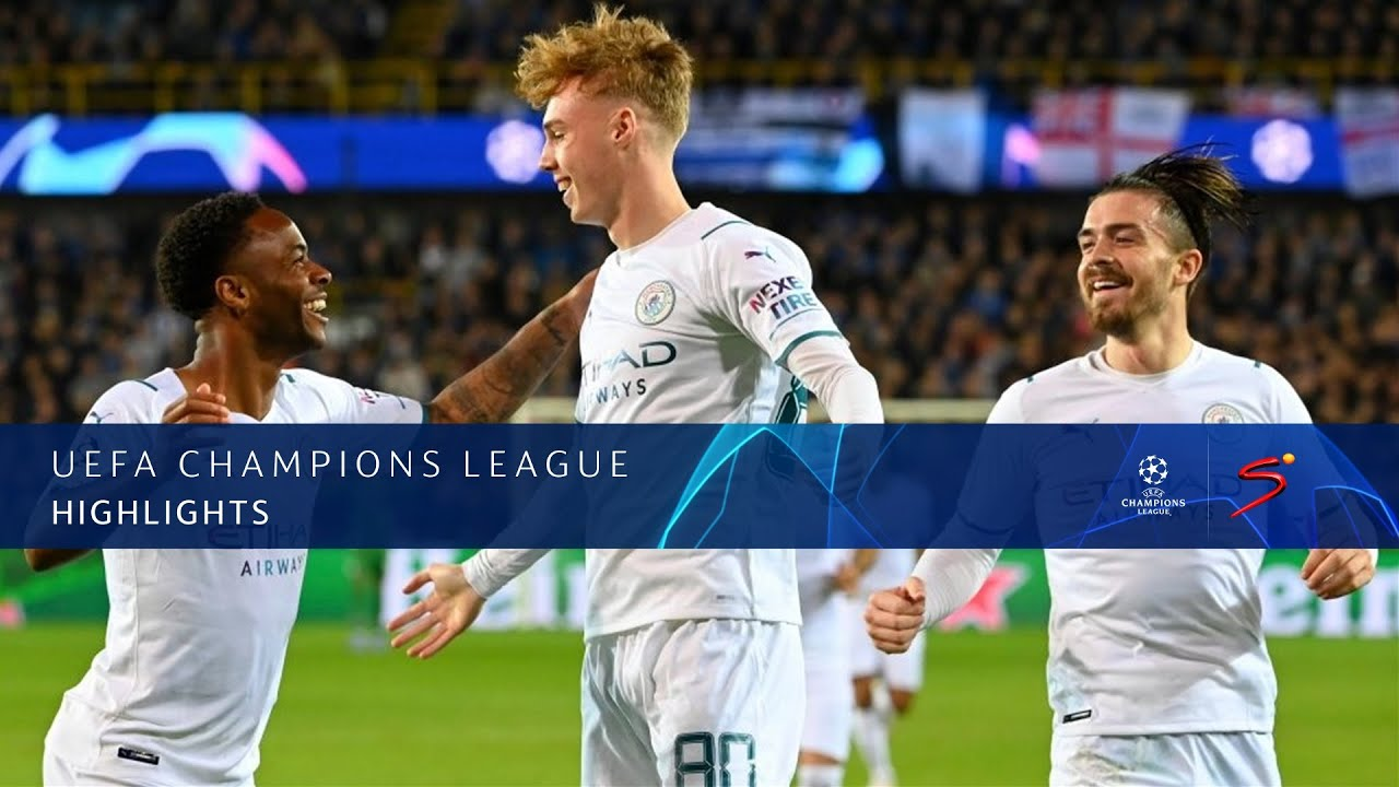 Download UEFA Champions League   Group A   Club Brugge KV v Manchester City   Highlights