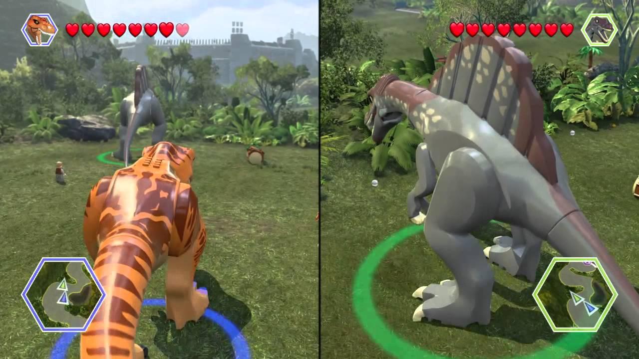 Lego jurassic world part 2 t rex vs spinosaurus youtube - Lego dinosaurs spinosaurus ...