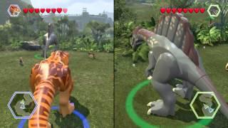 LEGO® Jurassic World part 2 T rex vs Spinosaurus
