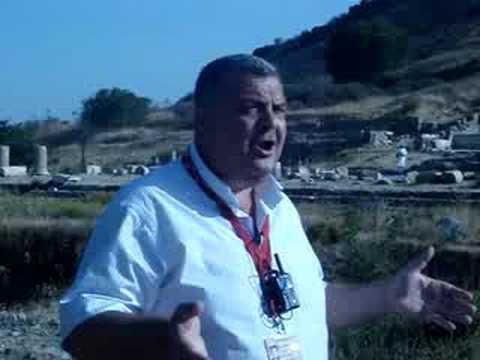 Tour guide in Ephesus