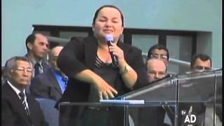 Coscientização Missionária   Missionária Kelem Gaspar