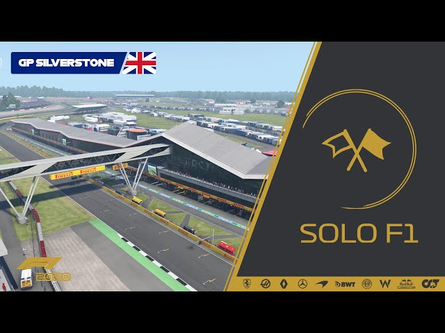 🔴 Retrasmisión de SoloF1 (Gp Silverstone #04)