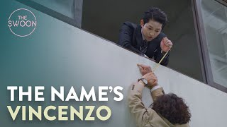 Song Joong-ki demonstrates his deadly negotiation skills | Vincenzo Ep 1 [ENG SUB]
