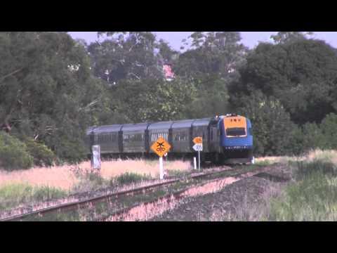 """Trainlink XPT """"Elvis Express"""" - Parkes - 13/01/2014"""