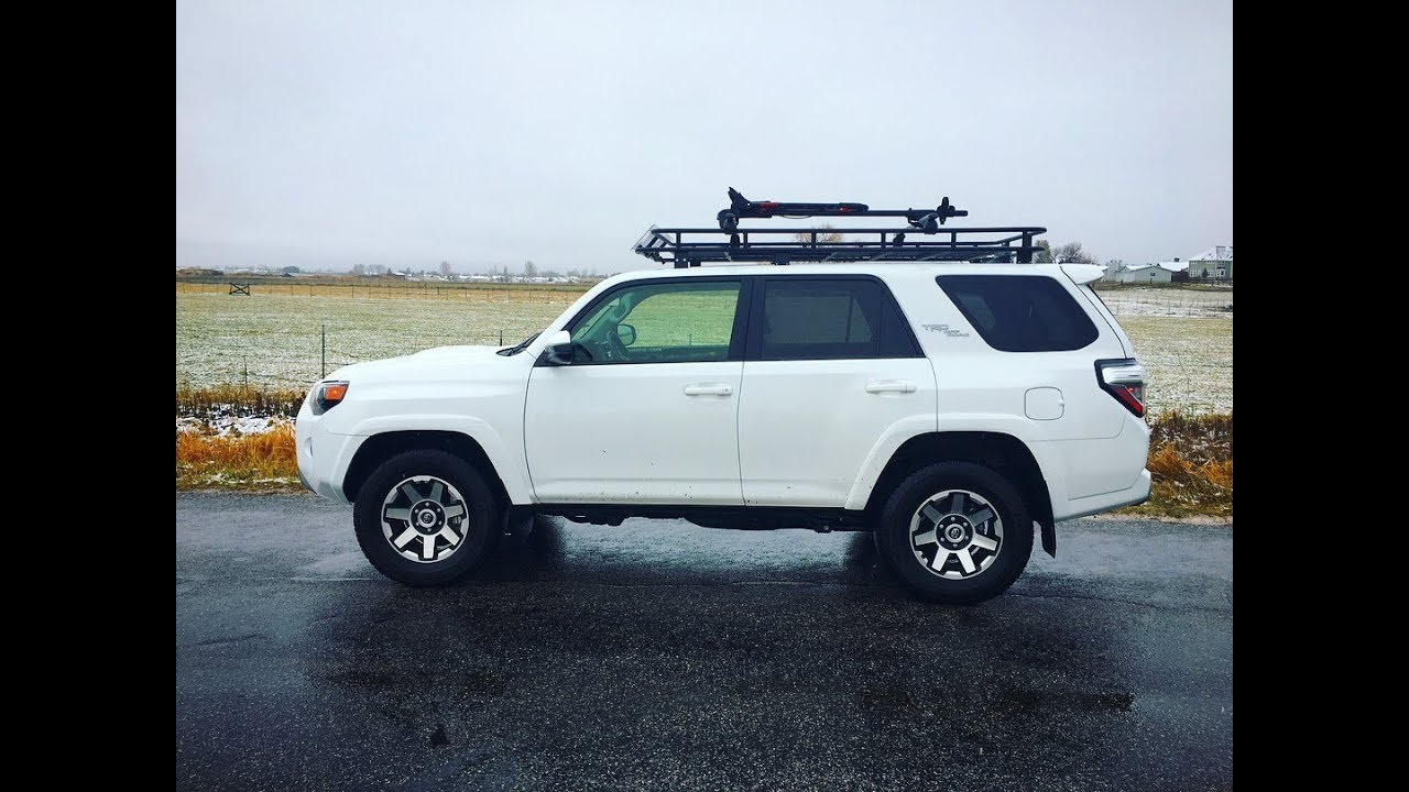 Welded Toyota 4runner Roof Rack Diy Youtube