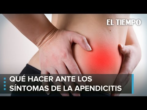 apendicitis sintomas y dolores