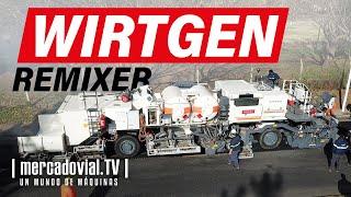 Wirtgen Remixer y HM 4500 - Reciclado en caliente in situ - Covema | Mercadvial TV