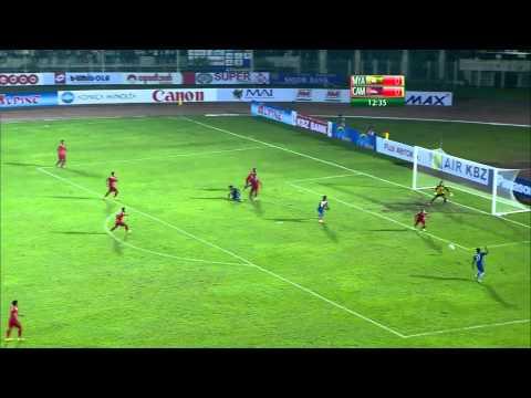 MRTV - Myanmar Vs Cambodia (1st half of the match) in Yangon on December 7