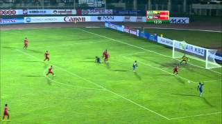 Repeat youtube video MRTV - Myanmar Vs Cambodia (1st half of the match) in Yangon on December 7