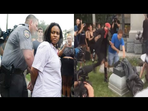 3 Protesters Arrested After Pulling Down Confederate Statue In Durham