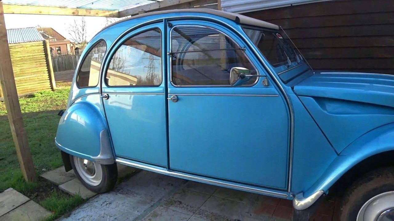 dodge gets new rubber citroen 2cv gets window locks and. Black Bedroom Furniture Sets. Home Design Ideas