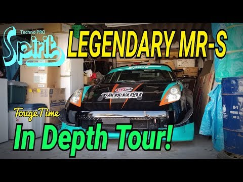Techno Pro Spirit Shop Tour: Visiting The Legendary MR-S And N2 AE86!