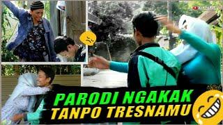"""KISAH CINTA OJOL INI BIKIN NANGIS - (Video parodi """"Tanpo Tresnamu"""" Denny Caknan)"""