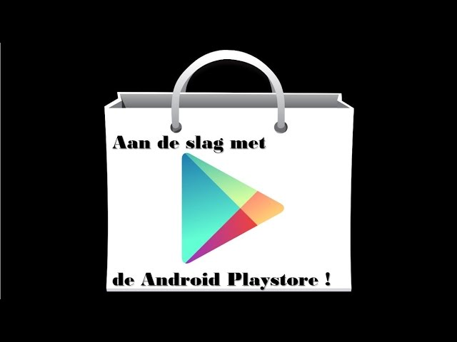 Android playstore: Inleiding
