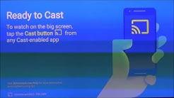 How to setup Chromecast on your HDTV