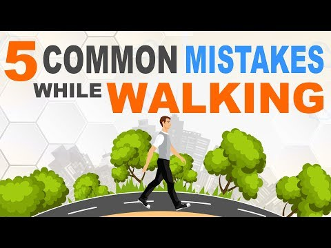 5 Common Mistakes While Walking | Walking Fitness | Walking Workout | Walking Benefits | Zilaxo