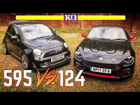 2017 Abarth 124 Spider Review VS Abarth 595 Review! | Which Is Better?