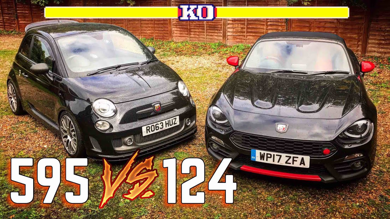 2017 abarth 124 spider review vs abarth 595 review! | which is