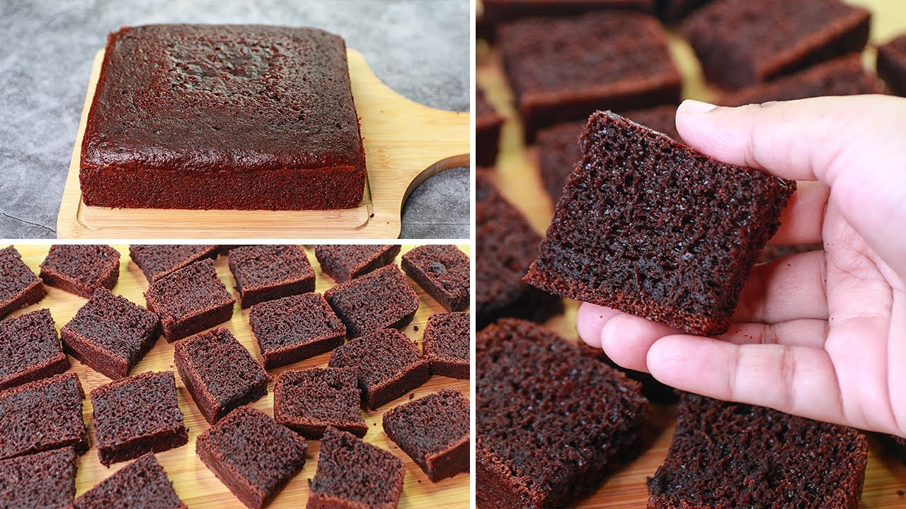 Oil Free Chocolate Tea Time Cake Recipe   Eggless & Without Oven   Yummy