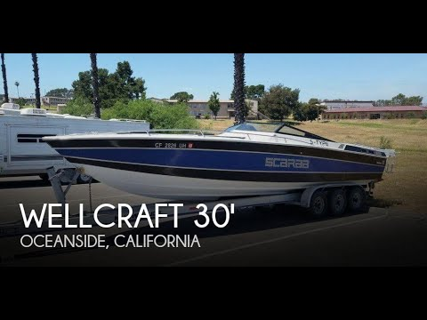 [UNAVAILABLE] Used 1982 Wellcraft 30 Scarab S in Oceanside, California