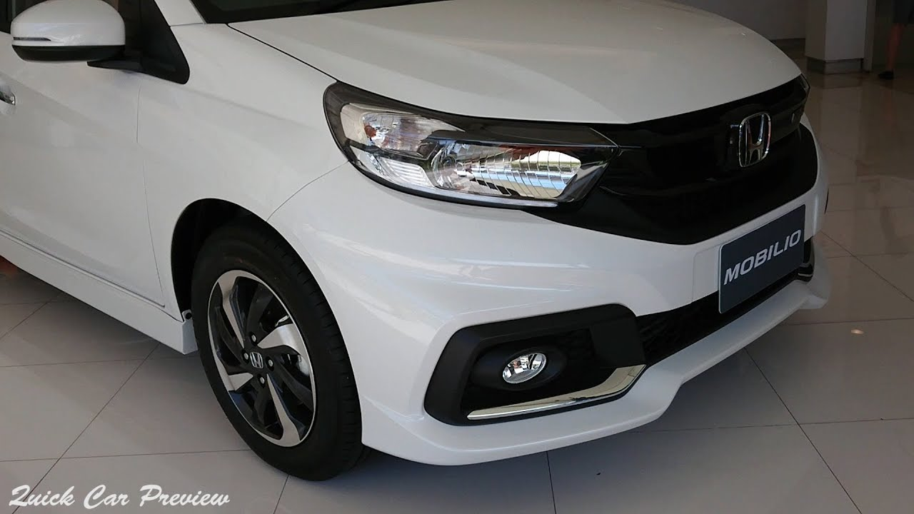 Quick Preview 2019 Honda Mobilio 1 5 Rs Youtube