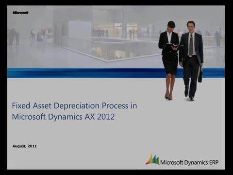 Microsoft Dynamics AX: Managing Fixed Assets Depreciation