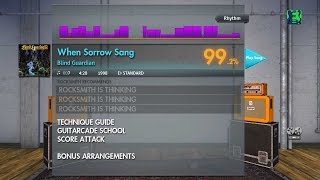 Blind Guardian - When Sorrow Sang (Rhythm) Rocksmith 2014 Custom DLC