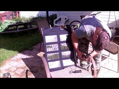 12 W Solar Panel Test+ Bonus