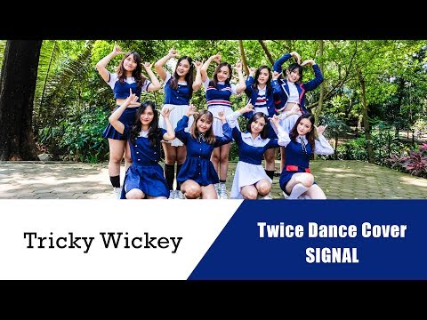 TWICE(트와이스) _ SIGNAL dance cover by Tricky Wickey from Indonesia #SIGNALingTWICE