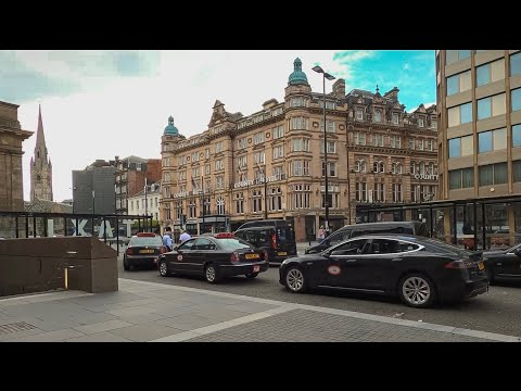 Newcastle Upon Tyne   City Centre   4K Walking Tour 2020   Post-Lockdown