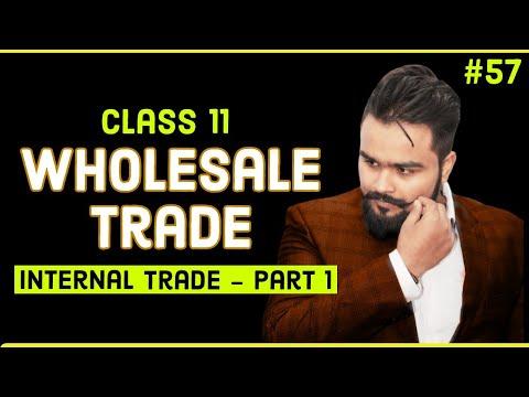 #57, Wholesale trade (class 11 business studies)
